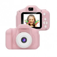 Детская фотокамера розовая
