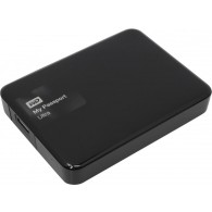 Жесткий диск HDD Western Digital 1Тb 2.5'' USB 3.0 Passport Ultra черный