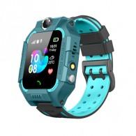 Смарт-часы детские с GPS трекером Q19 (зеленые)