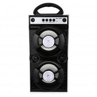 Колонка портативная MS-160BT (Bluetooth/USB /SD/FM/дисплей) черная