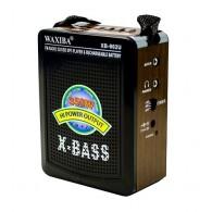 Радиоприемник XB-902 (USB/SD/FM) корич. Waxiba