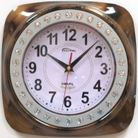 Часы настенные со стразами (1АА)