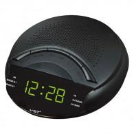 Часы настольные VST-903-4 зел.цифры+радио (220V)