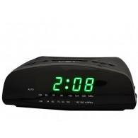 Часы настольные VST-905-4 зел.цифры+радио (220V)