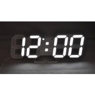 Часы настольные VST-883-6 бел.цифры (220V)