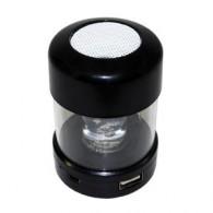Мини-колонка LCA16 (USB, microSD) светящаяся