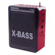 Радиоприемник ST-902 (USB/Fm) красный Sonater