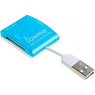 Картридер SmartBuy SBR 713 (SDHC\microSDHC\MMC\MS)