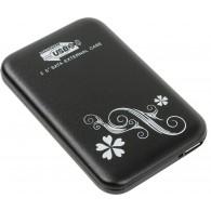 """Внеш,контейнер USB 3.0 Orient 2563 U3, для 2,5"""" HDD SATA алюм"""