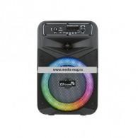 "Колонка портативная 8"" 20-27 (Bluetooth/TWS/USB /microSD/пров.микр/ПДУ) черная"