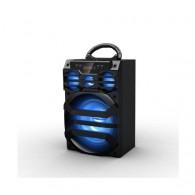 Колонка портативная MS-187BT (Bluetooth/USB /SD/FM/дисплей) черная