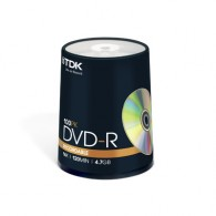 TDK DVD-R 4.7Gb 16x Cake box /100