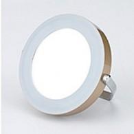 Зеркало SmartBuy со светод. подсветкой, золотистое (SBL-Mr-008)