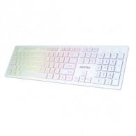 Клавиатура SmartBuy 305 USB белая с подсвет. (SBK-305U-W)
