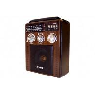 Радиоприемник Лира РП-261 (УКВ,СВ,USB,SD,220v/встр.аккумулятор)
