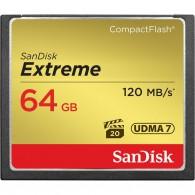 Карта памяти Compact Flash SanDisk 64Gb Extreme 120/85 Mb/s
