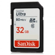 Карта памяти SDHC SanDisk 32Gb Class 10 UHS-1 Ultra 80MB/s