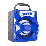 Колонка портативная MS-244BT (Bluetooth/USB /SD/FM) синяя