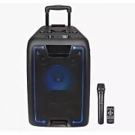 "Колонка портативная 10"" EL10-07ch (Bluetooth/USB /microSD/FM/ПДУ/1 микр) черная"
