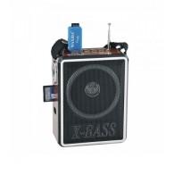 Радиоприемник XB-905 (USB/SD/FM) корич Waxiba