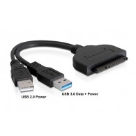 "Кабель- адаптер Orient UHD-502 (USB 3.0->SATA 6GB\s , для SSD\HDD 2.5"")"