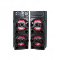 """Колонки 2.0 4*10"""" EL-20-21NEW (Bluetooth/USB /microSD/FM/ПДУ/микр)"""