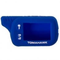 Чехол для сигнализации силиконовый Томагавк TZ9010\9020\9030 синий