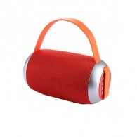 Мини-колонка TG-112 красная (BT, USB, microSD) (112873)