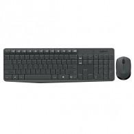 Комплект Logitech MK235 (клавиатура+мышь) беспроводной черный