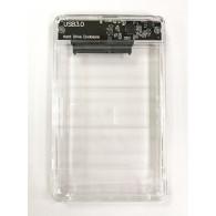 Корпус для жесткого диска 2.5'' (USB 3.0) прозрачный