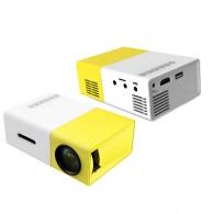 Проектор YG300 (320x240 пикселей 500Lm) входы:USB/microSD/AV/HDMI