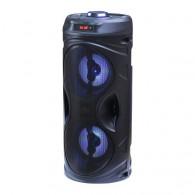 Колонка портативная RS8879 (Bluetooth/USB /SD/FM/дисплей/TWS) чер
