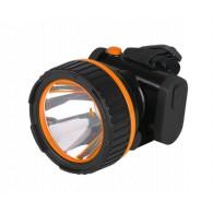 Фонарь Jazzway AccuH7-L1W LED оранжевый налобный