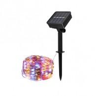 Светильник садовый Фаzа SLR-G03-100M (гирлянда-нить, мультицвет) 100 диодов