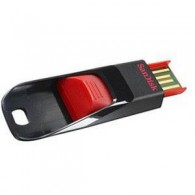 Флэш-диск SanDisk 32GB USB 2.0 CZ51 черный+красный