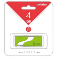 Флэш-диск SmartBuy 16GB USB 2.0 Hatch зеленый