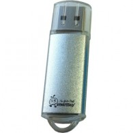 Флэш-диск SmartBuy 16GB USB 2.0 V-Cut серебристый