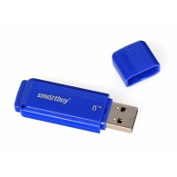 Флэш-диск SmartBuy 16GB USB 2.0 Dock синий