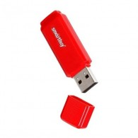 Флэш-диск SmartBuy 8GB USB 2.0 Dock красный