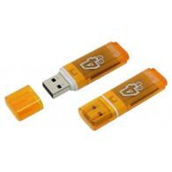 Флэш-диск SmartBuy 4GB USB 2.0 Glossy оранж