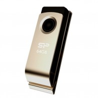 Флэш-диск Silicon Power 64 GB USB 2.0 Touch 825 металл