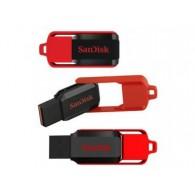 Флэш-диск SanDisk 32GB USB 2.0 CZ52 Cruzer Switch черно-красный