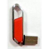 Флэш-диск 4Gb Карабин металлический красный (S805)