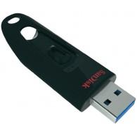 Флэш-диск SanDisk 64GB USB 3.0 CZ48 Cruzer Ultra красный