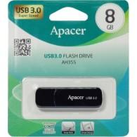 Флэш-диск Apacer 8Gb USB 3.0 AH 355 черный