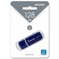 Флэш-диск SmartBuy128GB USB 3.0 Crown синий