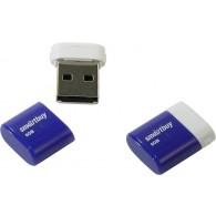 Флэш-диск SmartBuy 8GB USB 2.0 LARA голубой