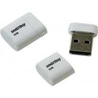 Флэш-диск SmartBuy 8GB USB 2.0 LARA белый