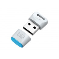 Флэш-диск Silicon Power 64 GB USB 2.0 Touch T06 белый