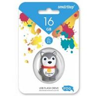 Флэш-диск SmartBuy 16GB USB 2.0 Собачка